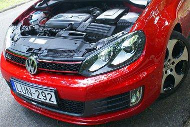Lökhárító, motor, felni, lámpák - ezek teszik különlegessé a GTI-t