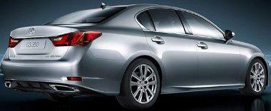 Íme az első - idő előtti - hivatalos képek az új Lexus GS-ről