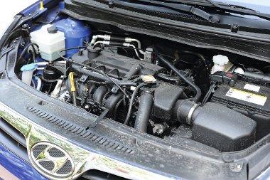 Jól húz a 78 lóerős, 1,25-ös motor, a nyomaték 119 Nm