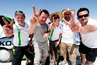Van mit ünnepelni - kategóriájában világrekord sebességet ért el a Skoda Octavia