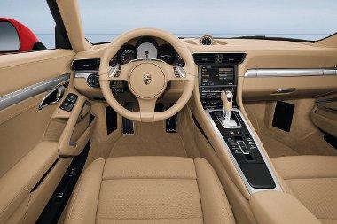 A Carrera GT ihlette a tervezőket a beltér rajzolásakor