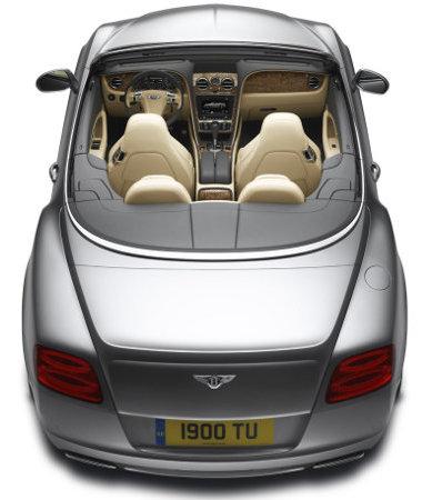 Könyebb és erősebb lett a modellfrissítés során a Bentley Continental GTC
