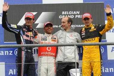 Tavaly Kubica ott volt a dobogón Belgiumban
