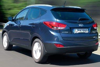A Hyundai ix35-ös rögtön slágermodellé avanzsált, január és június között 192 példányt helyeztek forgalomba (10,3%-os piacrész)