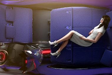 Lakóautó is lehet a Tubik, a belsejében ágyat is össze lehet hozni