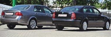 Mindkét modell hossza meghaladja a 4,8 métert, tekintélyt parancsol a Saab és a Skoda megjelenése