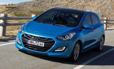 A ma is használt 1,4 és 1,6 literes négyhengeresekkel szerelik az új Hyundai i30-ast