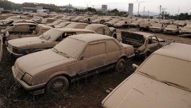Nem votl biztosítás, ezért Santa Catarina városa fizeti az 1500 megsemmisült autót