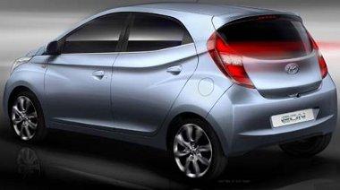 A sportos forma nem utal arra, hogy a Hyundai Eon-nál az ár volt az elsődleges