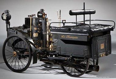 Végig dokumentált történelem: ez a négykerekű DeDion két évvel hamarabb született meg Carl Benz triciklijénél