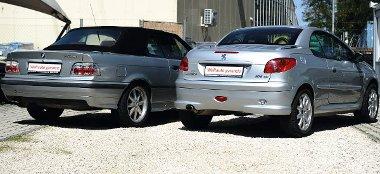 Nem illik a BMW-hez a Lexus-stílusú átlátszó bura, a 206-ost elkerülte az optikai tuning