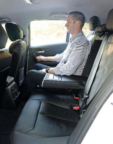 """A hátsó utasok lábtere 21 mm-rel nőtt, de továbbra is inkább """"négyszemélyes"""" az 1-es"""