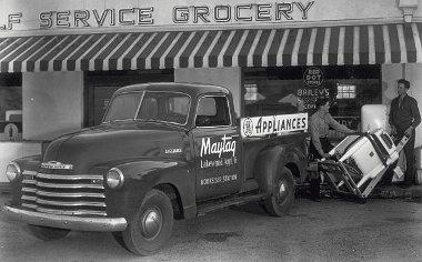 Kisteherautóban mindig is nagy volt a Chevrolet, ez itt egy 1948-as példány