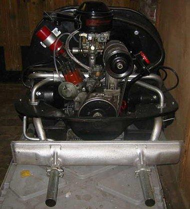 Szép a Bogár motor, de nem valami erős