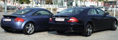 Tessék választani: mindkét autó formája szenzációs!