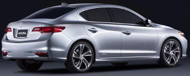 Jól néz ki a kompakt Acura sportszedán