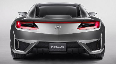 Hátul egy V6-os és egy elektro-, elöl két elektromotor hajt. Igen, négy motorja lesz az új Acura NSX-nek