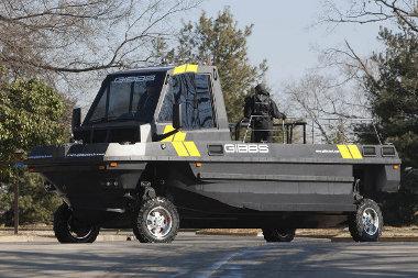Partközeli, mentési feladatokra szánják a kétéltű teherautókat