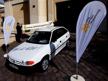 Már készülnek a Veterán Opel club tagjai az első Astrák fogadására