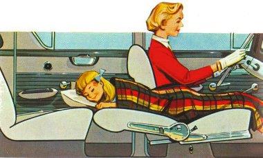 Mézesmadzag: az 1958-as Kapitän üléseiből ágyat lehetett hajtogatni