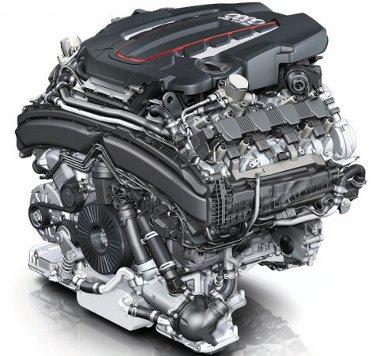 V8 TFSI: 420 lóerő, 550 Nm