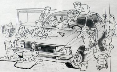 Ez lenne talán autónk karbantartásának ideális gyakorlata. De az is igaz: Magad uram, ha szolgád nincsen...