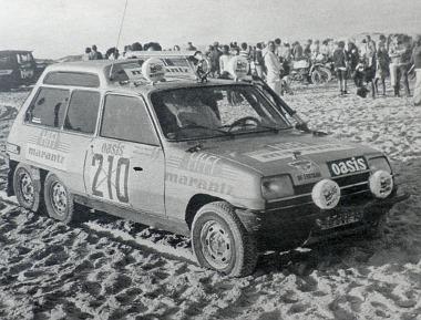 A hatkerekű Renault 5-ös