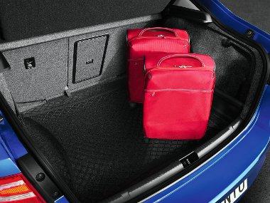 A kategória egyik legnagyobb csomagtere: 550 liternyi pakkot képes befogadni a Toledo