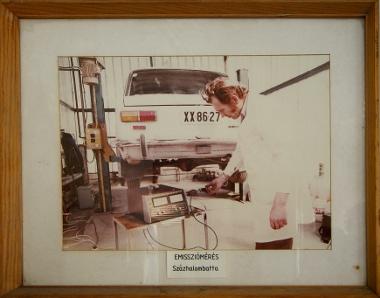 régen is bérelt autókat vizsgáltak az akkor még Dunai Kőolajipari Vállalat néven futó finomítóban