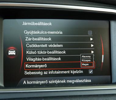Magyar nyelvű menü segíti a beállításokat