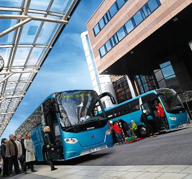 Rugalmasan konfigurálható az OmniExpress buszcsalád. A járművek sokféle célnak megfelelnek