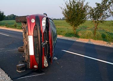 Súlyos baleset Kadarkútnál - fotók: police.hu