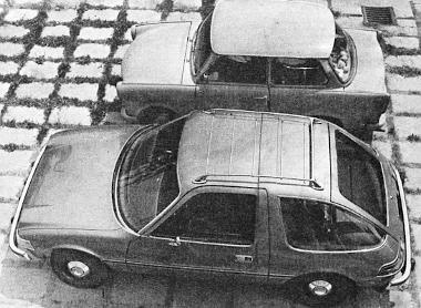 Már magyar rendszámmal is fut ilyen kocsi, amely jóval szélesebb, súlyosabb, de nem sokkal hosszabb, mint egy Trabant