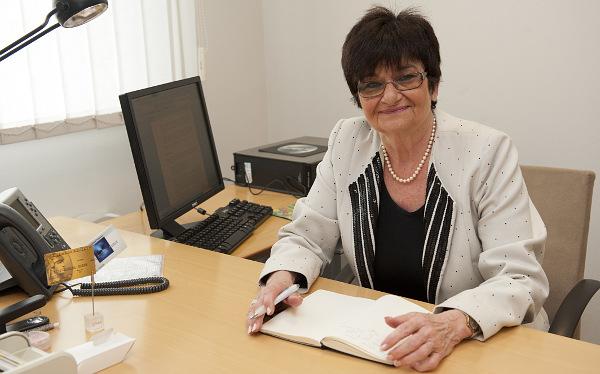 Hargitainé Várhegyi Teréz, az OTP Bank Kártya Üzleti Igazgatóságának ügyvezető igazgatója