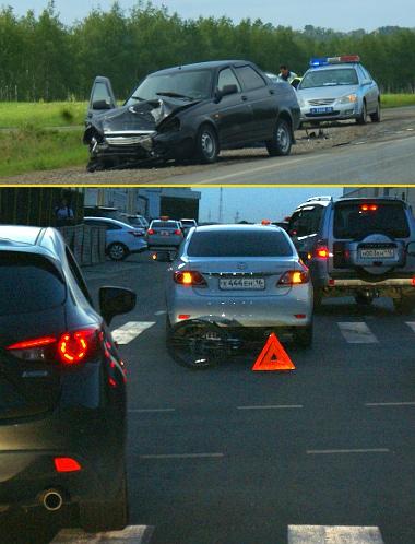 Balesetek emlékeztetnek arra, hogy bizony nem tévedhetetlenek az orosz sofőrök