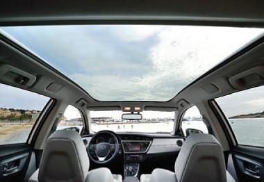 A kategória legnagyobb panoráma üvegtetője 1553x960 mm-es