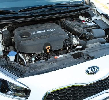 Csak 1800-as fordulattól kap életre az 1,4-es dízelmotor
