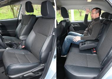 Kényelmesek az ülések, de az ülőlapok lehetnének picit hosszabbak. Ahogy a tengelytáv, úgy az átlagos helykínálat is maradt a régiben