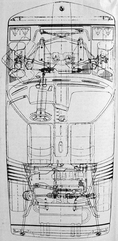 A csekély légellenállású, 2400 mm tengelytávú kocsi súlya 980 kg. A 200 DIN lóerős motort tekintve az egy lóerőre jutó súly 4,9 kg, ami egyik magyarázata a jó gyorsulásnak. Például 0-100 km/ó-ig 6,6, 0-160 km/ó-ig 15,7 mp
