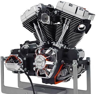 Nyomatékos és nem mellesleg gyönyörű a Harley V2-es blokkja