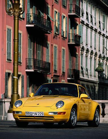A 993-as volt az utolsó léghűtésű Porsche
