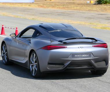 Az Infiniti első hatótávnövelős hibridje, illetve első Európában tervezett autója az Emerg-E