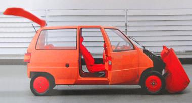 A Renault számára 1983-ban készített műanyagautó