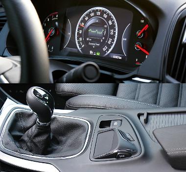 Rengeteg kiegészítő információt tud előhívni a sofőr, az érintőpad lehetne nagyobb is, de nem muszáj használni