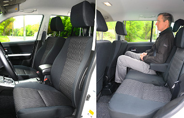 Plusz pontok: kényelmes és tágas a Suzuki terepjáró utastere