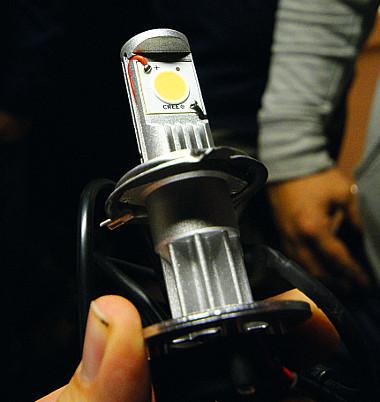 Ilyen egy hamisított, szabálytalan LED