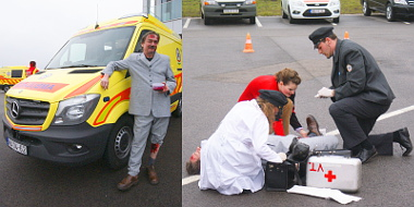 Az ügyeletes betegnek is tetszettek az új mentők