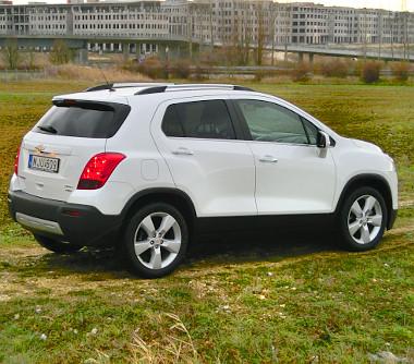 Könnyen megkülönböztethető az Opel Mokkától a Chevy-változat