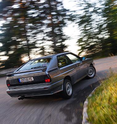 Ez a forma még ma is nagyon rendben van! Nem véletlen, hogy az Audi igyekszik feltámasztani a legendát