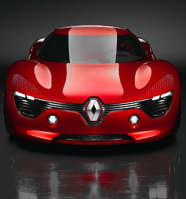 Hatásos formában, a DeZir sportkocsi-koncepción debütált a Renault vadonatúj márkaarculata